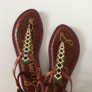 Sam Edelman Shoes - Leather Tribal Sandals